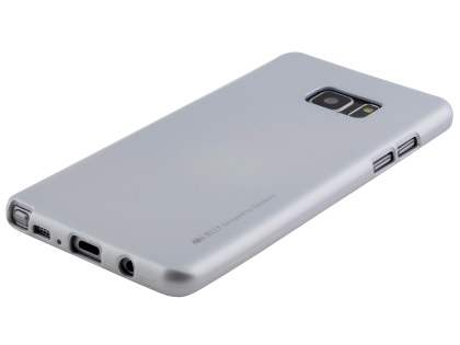 MERCURY iJelly Gel Case for Samsung Galaxy Note7 - Metallic Silver