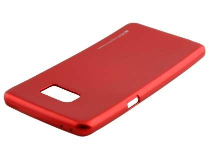 MERCURY iJelly Gel Case for Samsung Galaxy Note7 - Metallic Red