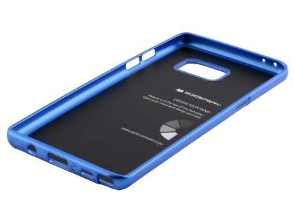 MERCURY iJelly Gel Case for Samsung Galaxy Note7 - Metallic Blue