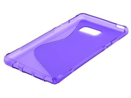 Samsung Galaxy Note7 Wave Case - Frosted Purple/Purple