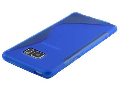 Samsung Galaxy Note7 Wave Case - Frosted Blue/Blue