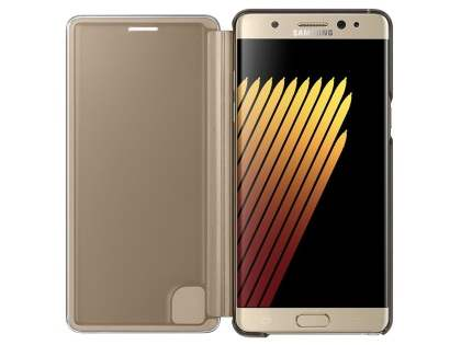 Genuine Samsung Galaxy Note7 Clear View Cover - Bronze