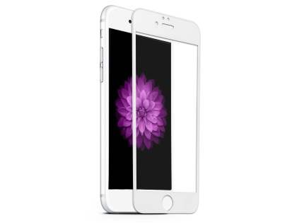 3D Full Coverage Tempered Glass Screen Protector for Apple iPhone 6s/6 - White Screen Protector