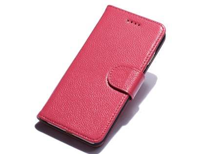 Premium Leather Wallet Case for iPhone 8/7 - Pink