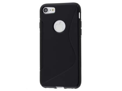 iPhone 7 4.7 inches Wave Case - Frosted Black/Black