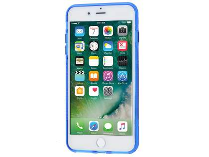 iPhone 7 Plus Wave Case - Frosted Blue/Blue