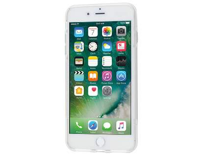 iPhone 7 Plus Wave Case - Frosted Clear/Clear