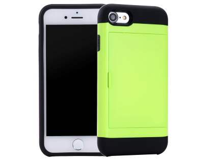 Impact Case with Card Pocket for iPhone 8/7 - Green Impact Case