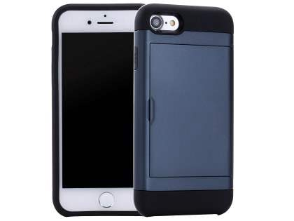 Impact Case with Card Pocket for iPhone 8/7 - Midnight Blue Impact Case