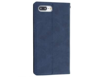 Mercury Goospery Blue Moon Wallet Case for iPhone 8 Plus/7 Plus - Midnight Blue