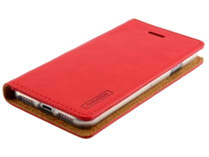 Mercury Blue Moon Wallet Case for iPhone 7 4.7 inches - Red
