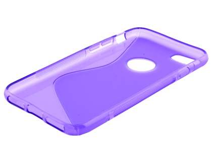Wave Case for iPhone 8/7 - Frosted Purple/Purple