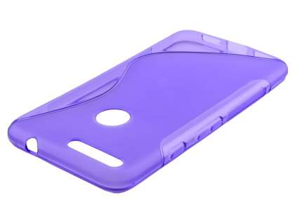 Wave Case for Google Pixel - Frosted Purple/Purple Soft Cover