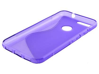 Wave Case for Google Pixel - Frosted Purple/Purple
