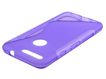 Wave Case for Google Pixel XL - Frosted Purple/Purple Soft Cover