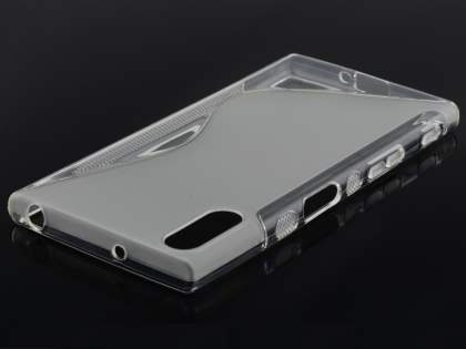 Wave Case for Sony Xperia XZ - Frosted Clear/Clear Soft Cover