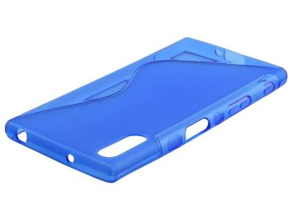 Wave Case for Sony Xperia XZ - Frosted Blue/Blue Soft Cover