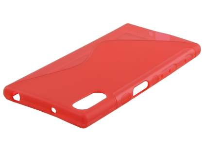 Wave Case for Sony Xperia XZ - Frosted Red/Red Soft Cover