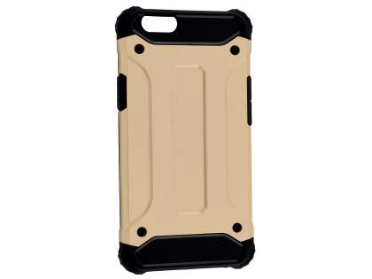 Oppo F1s Impact Case - Gold/Black Impact Case