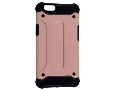 Oppo F1s Impact Case - Rose Gold/Black Impact Case