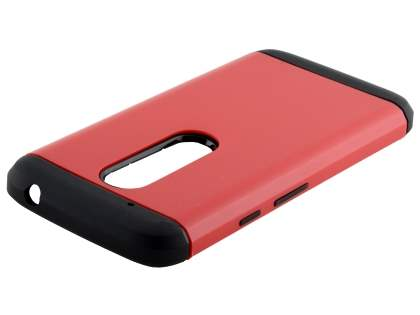 Impact Case for Motorola Moto G4 Play - Red/Black Impact Case