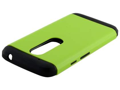 Impact Case for Motorola Moto G4 Play - Green/Black Impact Case