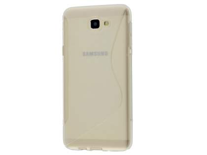Wave Case for Samsung Galaxy J5 Prime - Frosted Clear/Clear Soft Cover