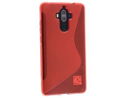 Wave Case for Huawei Mate 9 - Frosted Red/Red Soft Cover