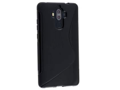 Wave Case for Huawei Mate 9 - Frosted Black/Black Soft Cover