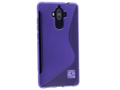Wave Case for Huawei Mate 9 - Frosted Purple/Purple Soft Cover