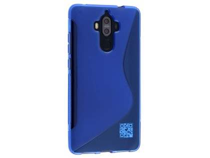 Wave Case for Huawei Mate 9 - Frosted Blue/Blue Soft Cover
