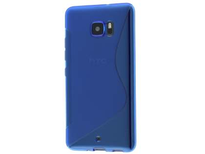 Wave Case for HTC U Ultra - Frosted Blue/Blue Soft Cover