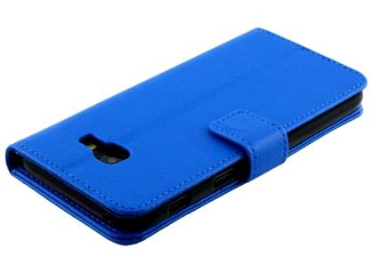Synthetic Leather Wallet Case with Stand for Samsung Galaxy A5 (2017) - Blue