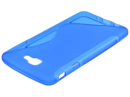 Wave Case for Samsung Galaxy J7 Prime - Frosted Blue/Blue Soft Cover