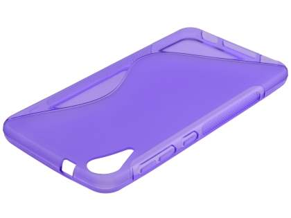 Wave Case for HTC Desire 825 - Frosted Purple/Purple