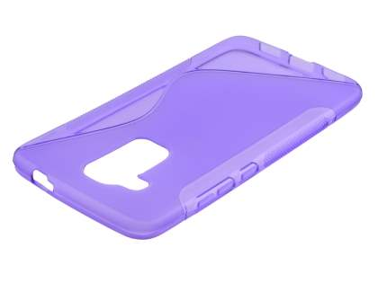Wave Case for Huawei Nova Plus - Frosted Purple/Purple Soft Cover