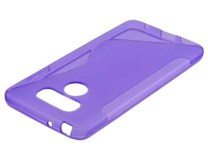 Wave Case for LG G6 - Frosted Purple/Purple Soft Cover