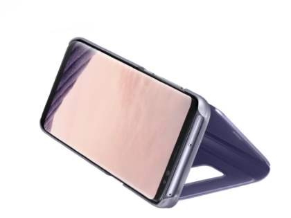 Genuine Samsung Galaxy S8 Clear View Standing Cover - Violet