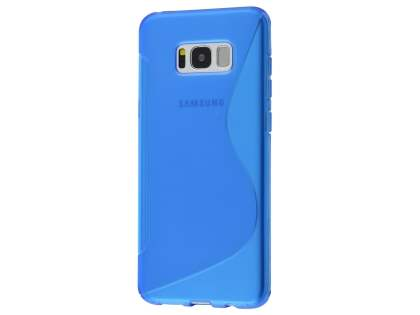 Wave Case for Samsung Galaxy S8 - Frosted Blue/Blue Soft Cover