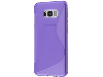 Wave Case for Samsung Galaxy S8 - Frosted Purple/Purple Soft Cover