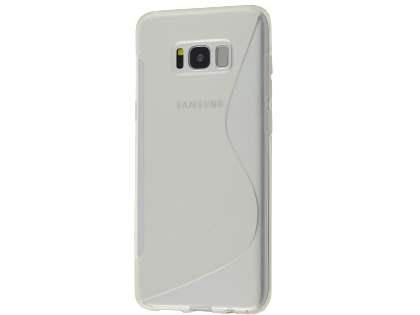 Wave Case for Samsung Galaxy S8 - Frosted Clear/Clear Soft Cover