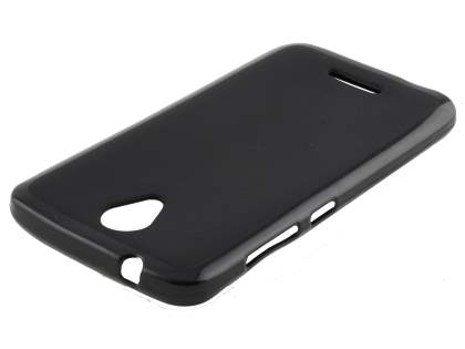 TPU Gel Case for Telstra 4GX Plus - Classic Black Soft Cover