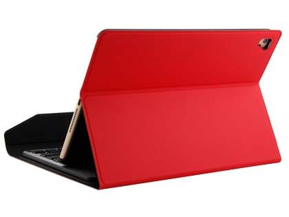 Aluminium Keyboard with Slim Case for iPad 9.7 (18/17)/Pro 9.7/Air 2/Air - Red Keyboard