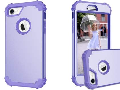 Defender Case for iPhone 8/7 - Lilac Impact Case