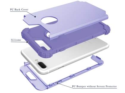Defender Case for iPhone 7 Plus - Lilac