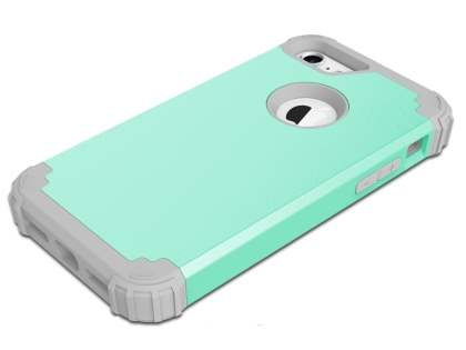 Defender Case for iPhone 8/7 - Mint/Grey