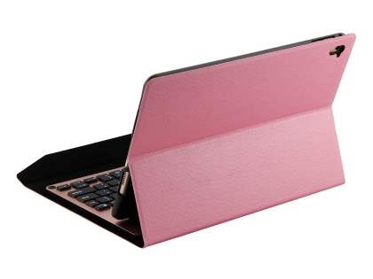 Smart Bluetooth Keyboard Case for iPad Air - Pink Keyboard