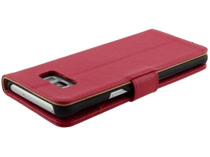Premium Leather Wallet Case for  Samsung Galaxy S8 - Pink