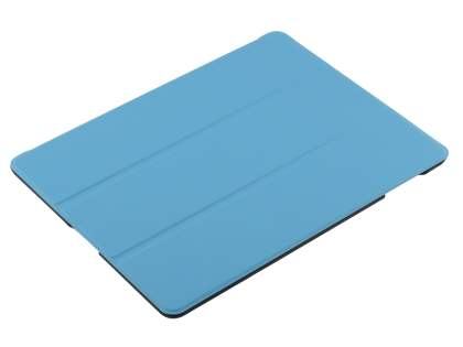Premium Slim Synthetic Leather Flip Case with Stand for iPad 2/3/4 - Sky Blue