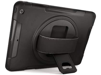 Rugged Handholder Case for iPad mini 1/2/3 - Classic Black Impact Case